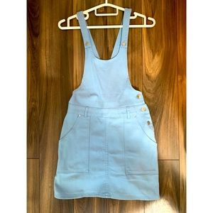 Jean Skirt with Overalls